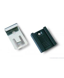 Grapa extensible INOX para sujección de espejos (4 UNIDADES)