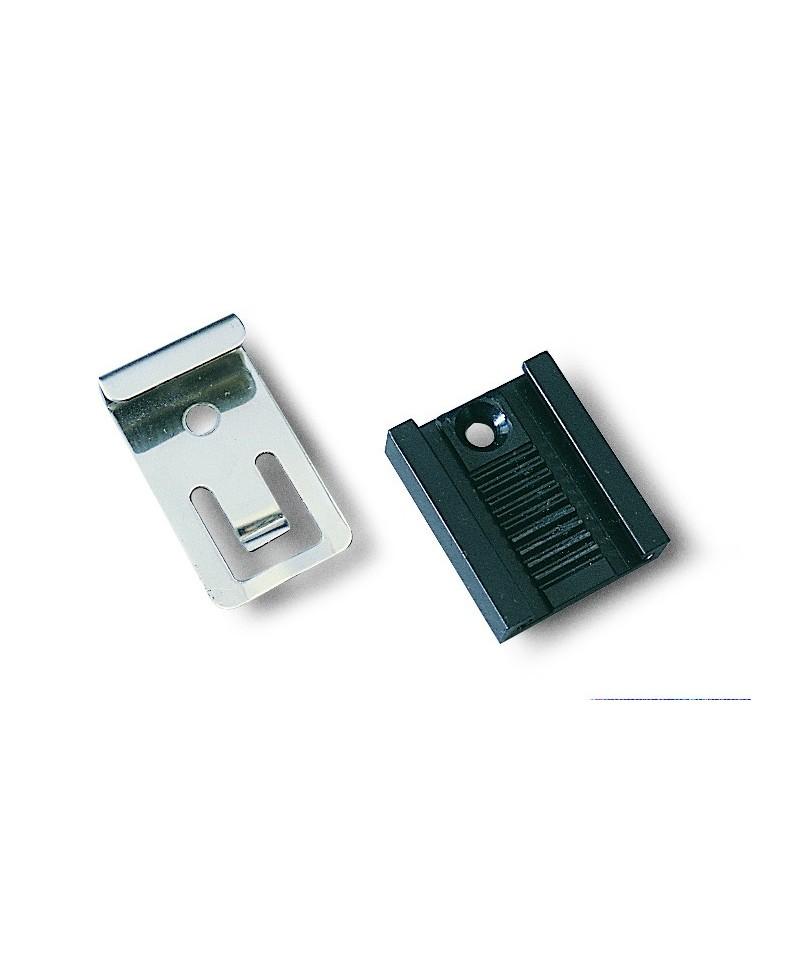 Grapa extensible INOX para sujección de espejos (4 UNIDADES) - 1