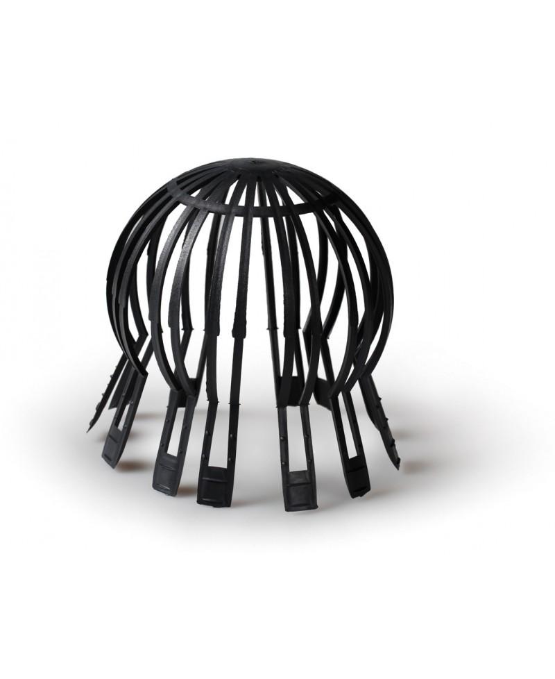 Parahojas en plástico negro de 70 a 125 mm. - 1