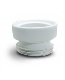 Manguito elástico concéntrico para inodoro 96/114 mm. - 1