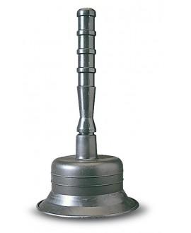 Desatascador de goma con campana de 115 mm.
