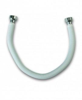 """Latiguillo metálico para gas hembra hembra 1/2"""" de 40 cm."""