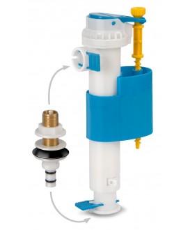 """Grifo flotador silencioso y regulable para inodoro de entrada lateral o vertical de 3/8"""""""