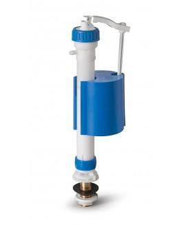"""Grifo flotador silencioso y regulable para inodoro de entrada vertical de 3/8"""""""