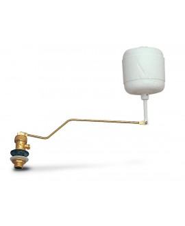 """Grifo flotador silencioso con boya regulable para inodoro de entrada vertical de 3/8"""""""