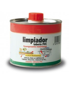 Disolvente limpiador para PVC de 500 ml.