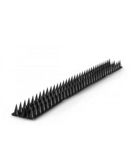 Anti-aves en pvc negro de 50 cm.
