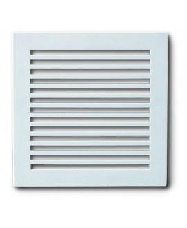 Rejilla para ventilación en plástico blanco