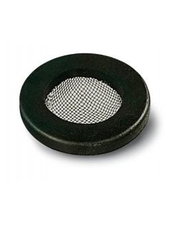 Junta plana de goma con filtro inoxidable