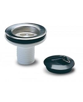 Válvula para sifón flexible