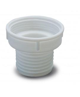 Unión de válvula roscada a sifón flexible