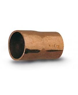 Manguito reducido de cobre 240cu hembra - hembra