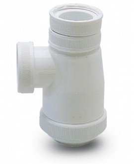 Sifón botella en polipropileno