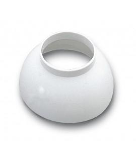 Florón blanco para tubo de sifón