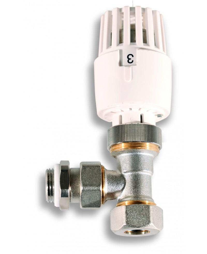 Válvula termostática de radiador para tubo multicapa - 1