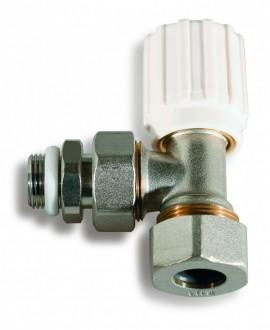 Válvula de radiador para tubo de cobre
