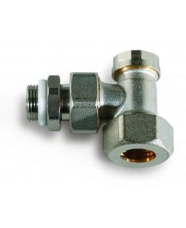 Detentor de radiador para tubo de cobre