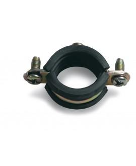 Abrazadera isofónica para tubos