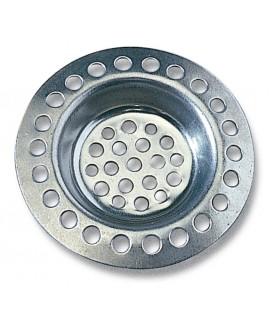 Rejilla filtro para desagüe en acero inoxidable