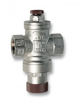 Válvula reductora de presión con toma para manómetro