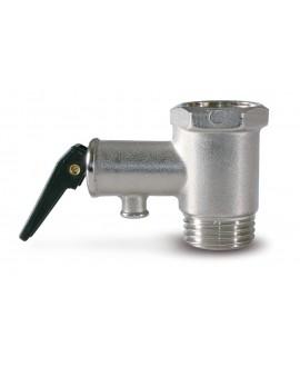 Válvula de seguridad con purgador para termos