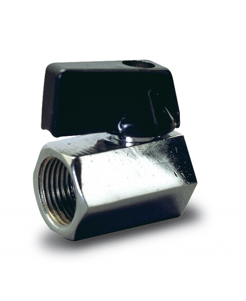 Válvula de esfera mini hembra - hembra - 2