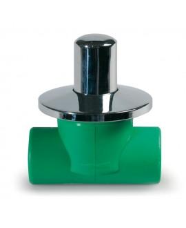 Válvula para empotrar para tubo de ppr