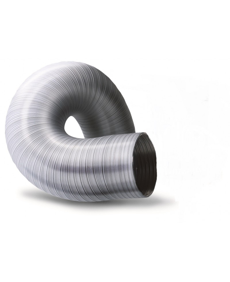 Tubo de aluminio corrugado para extracción - 2