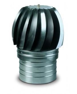 Deflector eólico en acero inoxidable