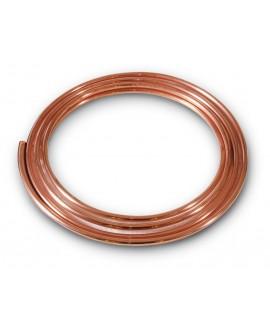 Tubo de cobre - rollo de 5 mt. -