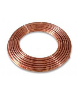Tubo de cobre - rollo de 50 m.