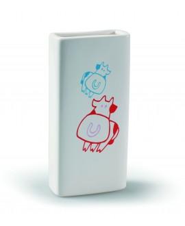 Humidificador blanco infantil para radiador - 4