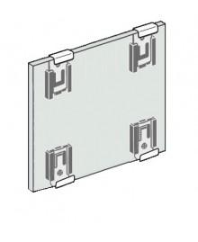 Grapa extensible INOX para sujección de espejos (4 UNIDADES) - 2