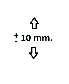 Soporte para radiador regulable en altura