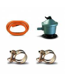 Pack regulador y tubo gas butano - 1