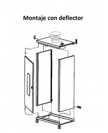 Armario universal para caldera de 100 x 55 x 44 cm. - 4